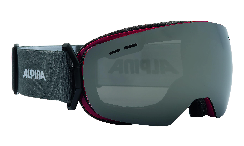 Очки горнолыжные Alpina GRANBY S MM black matt_MM black S3 sph., Горнолыжные очки и маски - арт. 779800418