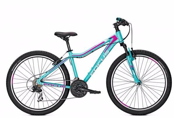 Велосипед FOCUS RAVEN ROOKIE 1.0 24R 2017 AQUABLUE, Велосипеды - арт. 829240390