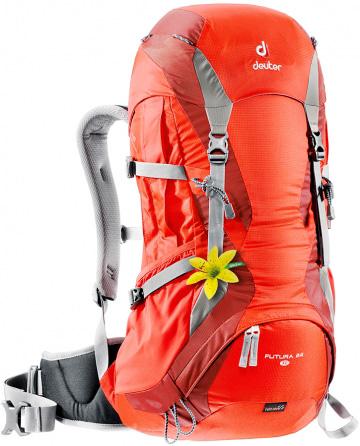 Рюкзак Deuter 2015 Aircomfort Futura Futura 24 SL papaya-lava, Женские рюкзаки - арт. 602520288