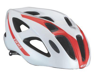 Летний шлем BBB Kite white red (BHE-33), Велошлемы - арт. 600650356