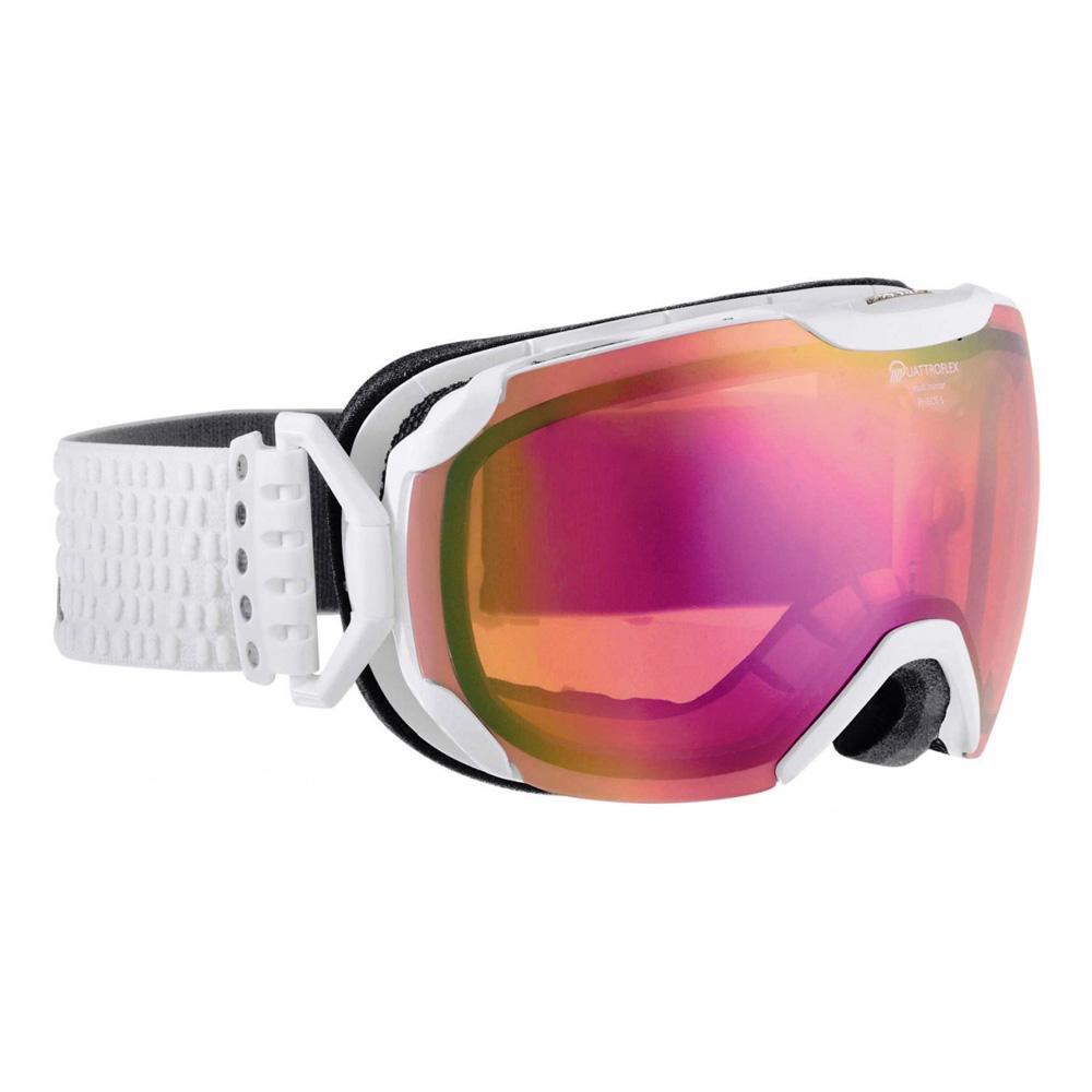 Очки горнолыжные Alpina PHEOS S QMM white_QMM pink S2, Горнолыжные очки и маски - арт. 750010418