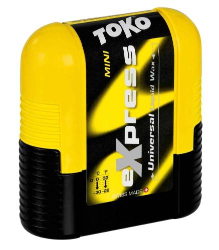 Универсальная жидкая смазка TOKO Express Wax MINI (c аппликатором 0/-30 С, 75 мл.)