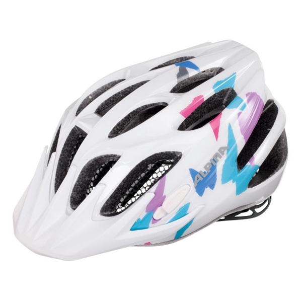 Летний шлем ALPINA 2016 JUNIOR / KIDS FB Jr. 2.0 white butterfly