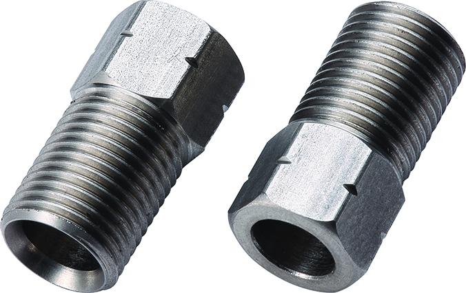 Наконечник BBB Compression Nut - Shimano - Stainless Steel, Рулевая группа - арт. 1034880362