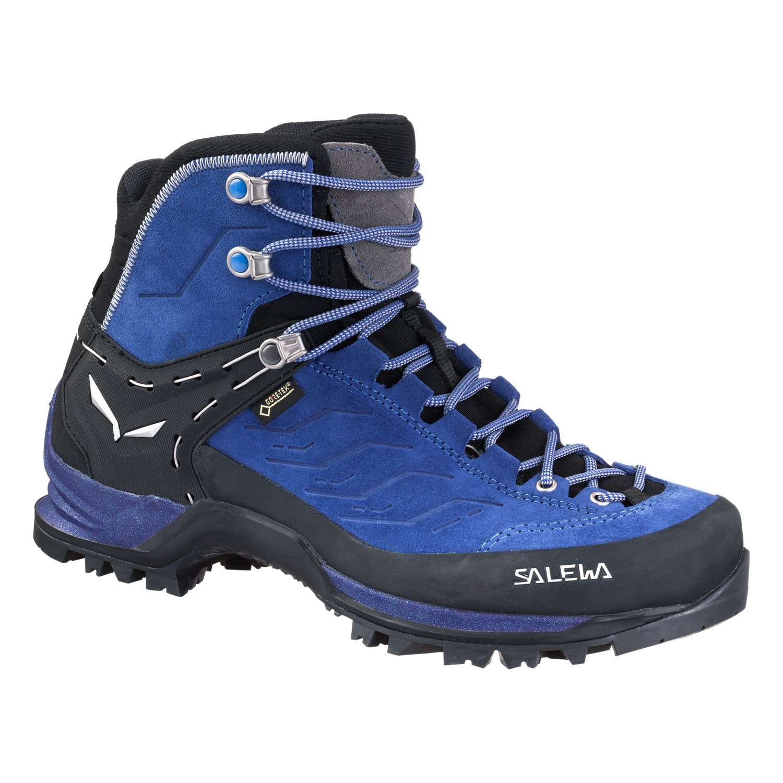 Ботинки для треккинга (высокие) Salewa 2018 WS MTN TRAINER MID GTX Marlin/Alloy, Треккинговая обувь - арт. 1027930252