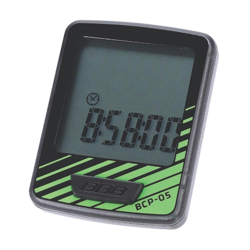Компьютер BBB DashBoard 7 functions проводной черный/зеленый (BCP-05), Велокомпьютеры и комплектующие - арт. 819840363