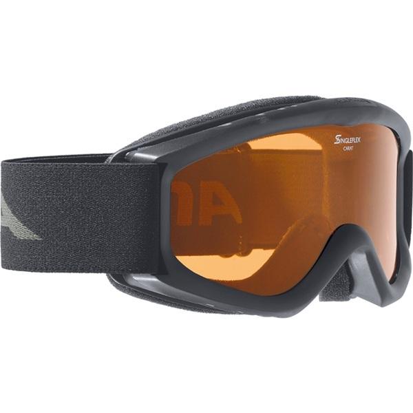 Очки горнолыжные Alpina Carat D black_DH S2, Очки - арт. 779830161