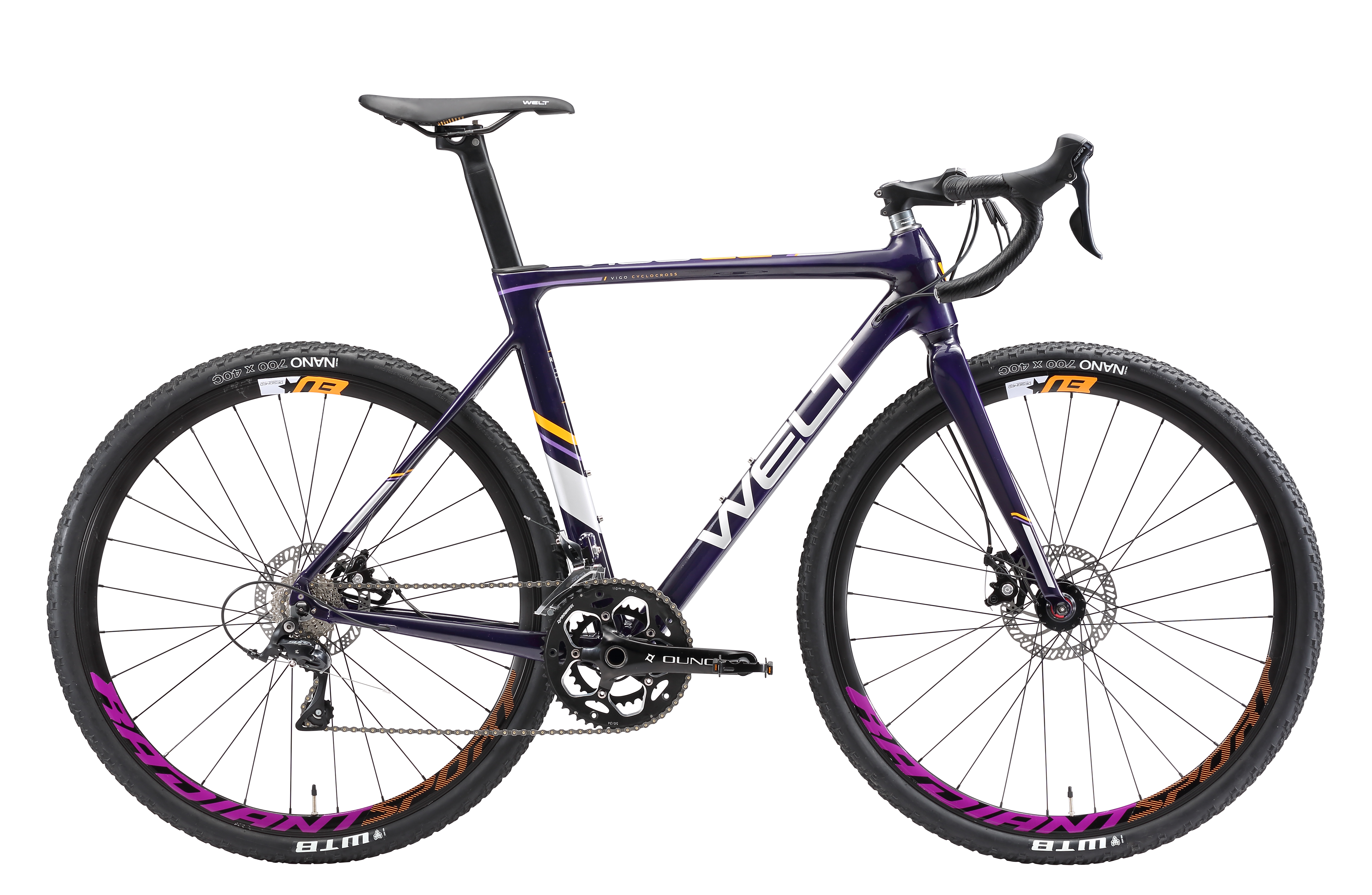 Велосипед Welt 2018 VIGO CCross violet, Велосипеды - арт. 1034150390