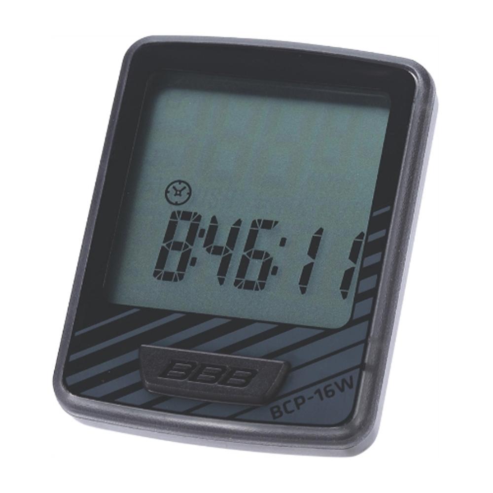 Компьютер BBB DashBoard 12 functions проводной черный/серый (BCP-16W), Все для велотуризма - арт. 819900351