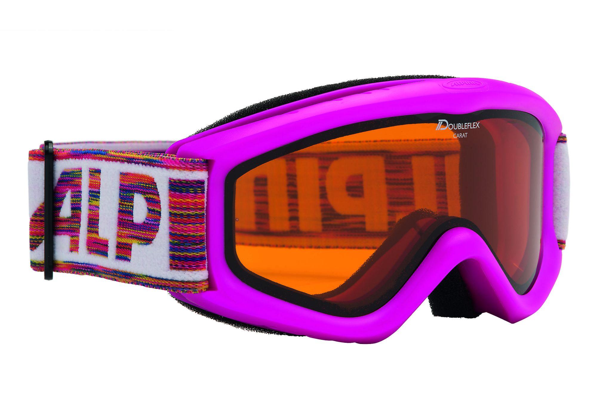 Очки горнолыжные Alpina CARAT D pink DH (б/р:ONE SIZE), Очки - арт. 993670161