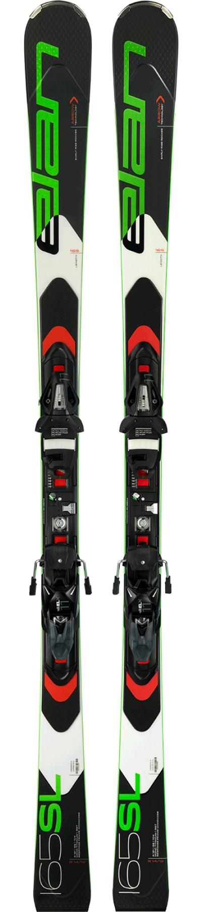 Горные лыжи с креплениями Elan 2017-18 SL EL 11 Fusion