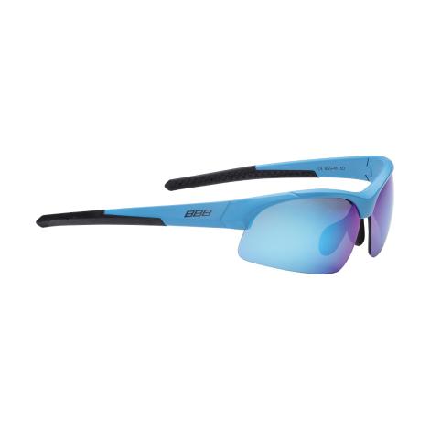 Очки солнцезащитные BBB Impress Small PC smoke blue lenses матовый синий (BSG-48)