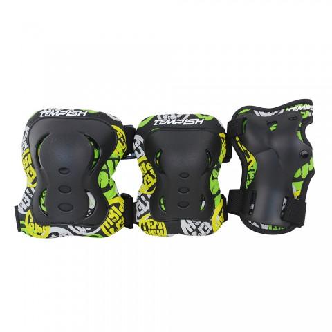 Комплект 3-х элементов защиты TEMPISH 2017 FID boy black, Защита при езде на роликовых коньках - арт. 830080432