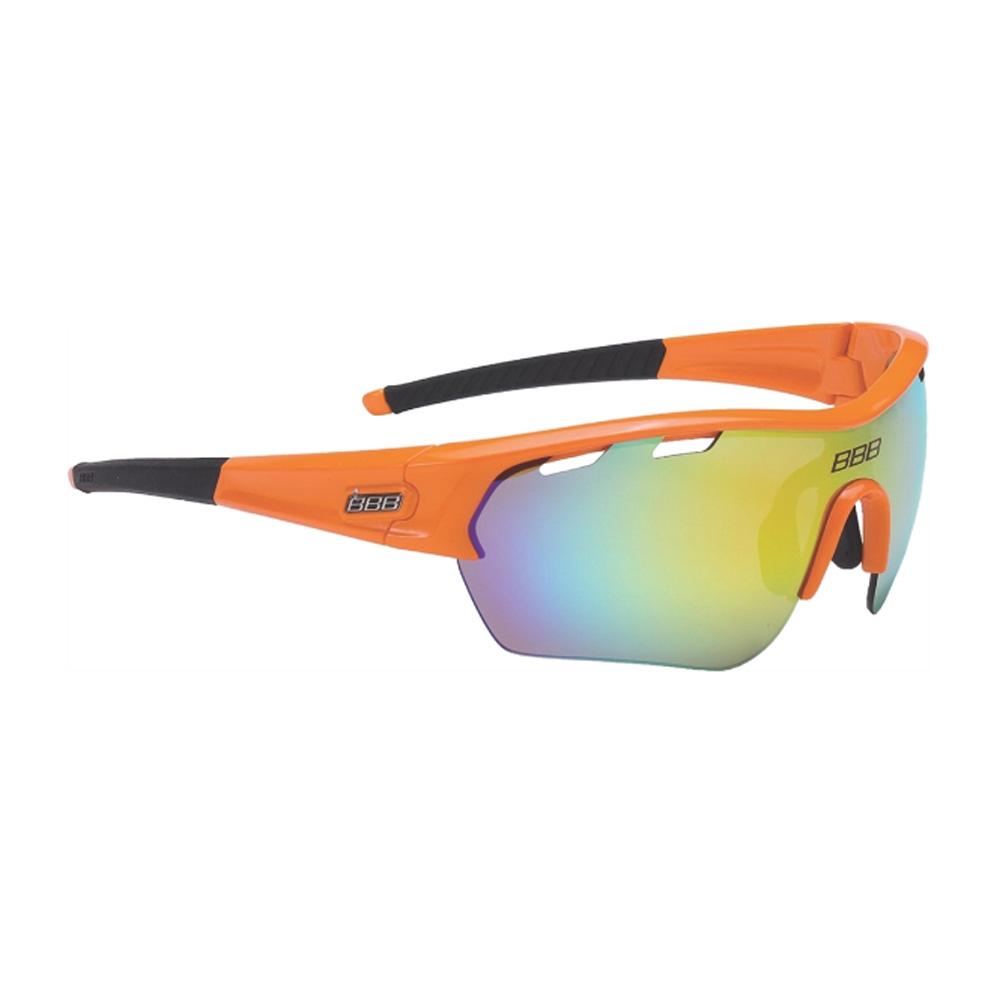 Очки солнцезащитные BBB 2018 Select XL MLC orange XL lens black tips оранжевый, Очки - арт. 1031420161
