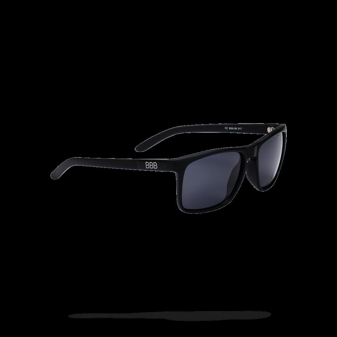 Очки солнцезащитные BBB 2018 Town PZ PC Smoke polarised lenses черный матовый