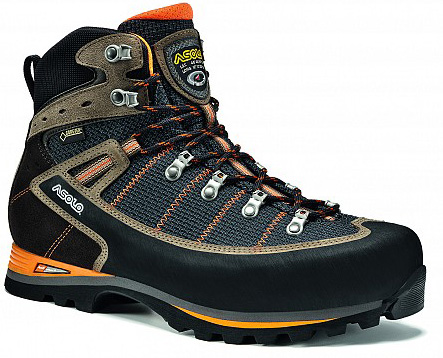 Ботинки для треккинга (высокие) Asolo Shiraz GV Black / Nicotine, Треккинговая обувь - арт. 1018700252