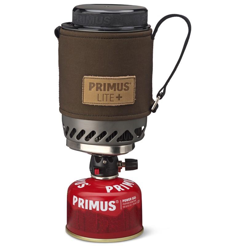 Комплект (горелка с кастрюлей) Primus 2017 Lite Plus Dark Olive Piezo - артикул: 750370205
