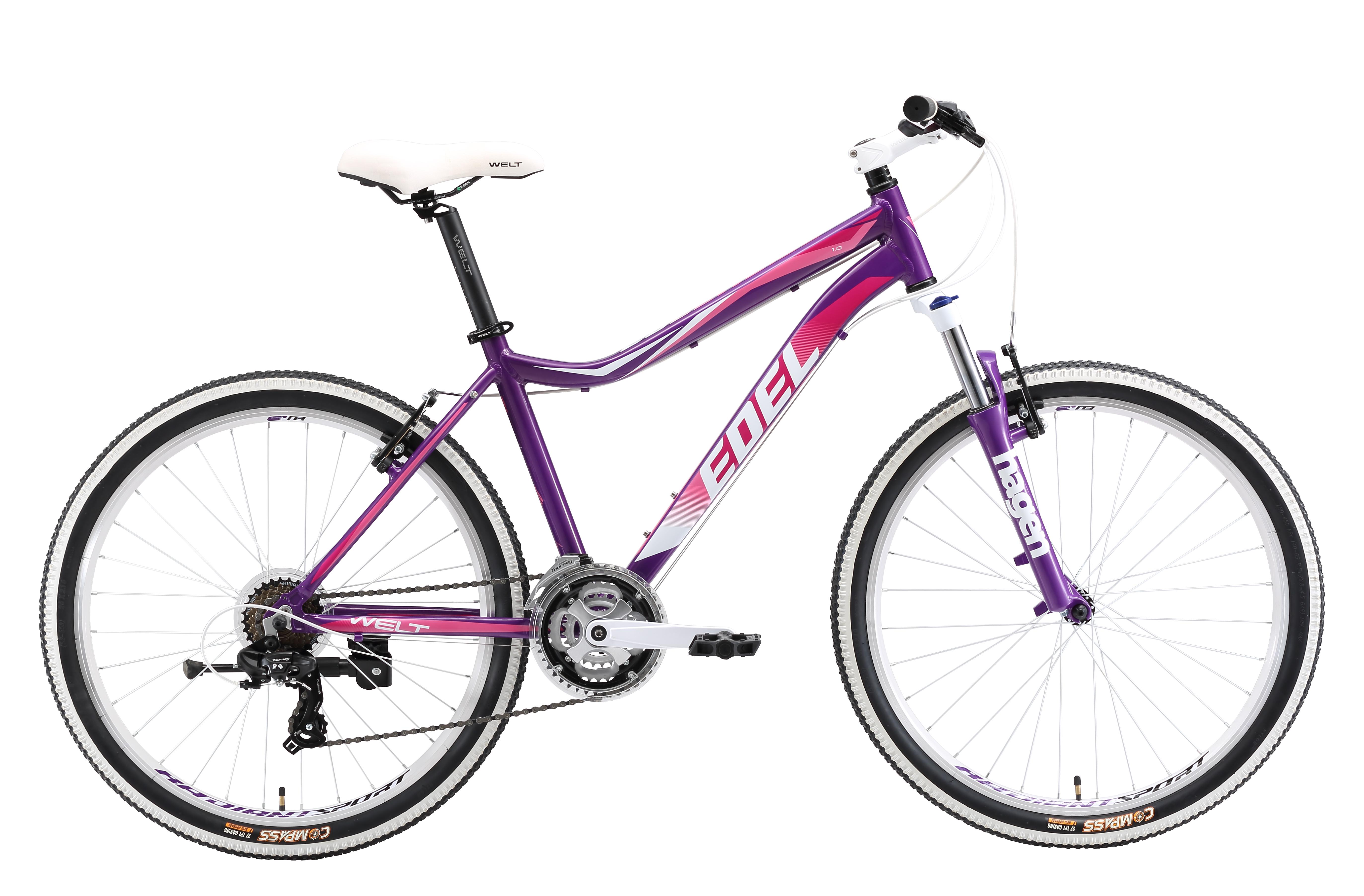 Велосипед Welt 2018 Edelweiss 1.0 violet/pink (US:M), Велосипеды - арт. 997470390
