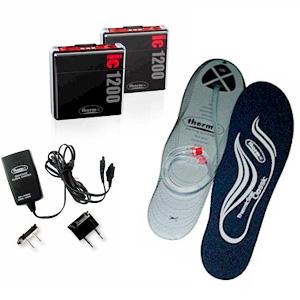 Набор стельки с подогревом (без разм.) + аккумулятор Therm-IC SmartPack Set ic 1200 (EU) incl. ThermicSole Classic