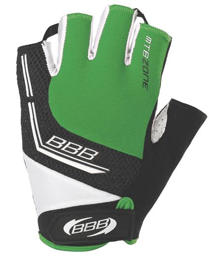 Перчатки велосипедные BBB MTBZone green (BBW-33)