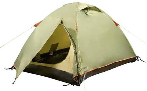 Палатка Outdoor Project Saturn 2FG св.зеленый, Палатки двухместные - арт. 597660320