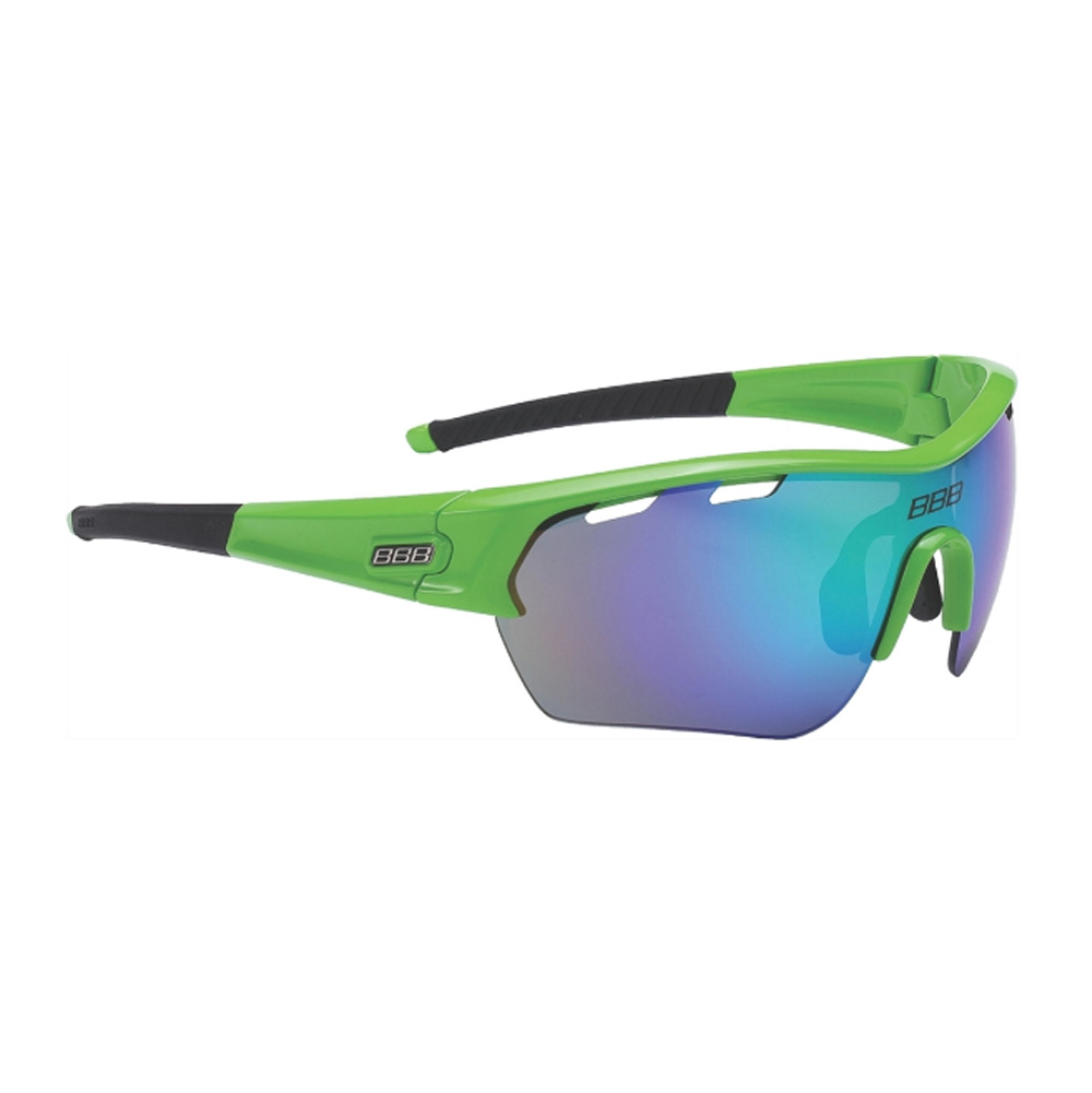 Очки солнцезащитные BBB 2018 Select XL MLC green XL lens black tips зеленый, Очки - арт. 1031410161