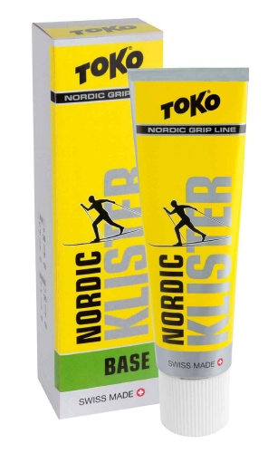 Клистер TOKO Grip Line Nordic Base Klister (зеленая базовая, 0С/-30, 55 гр.)