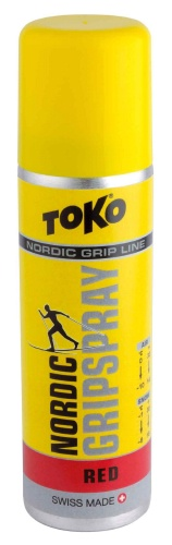Спрей TOKO Grip Line Nordic GripSpray (красная, -1С/-8, 70мл)