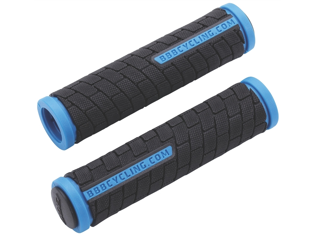 Грипсы BBB 2015 grips DualGrip 125mm black/blue (BHG-06)