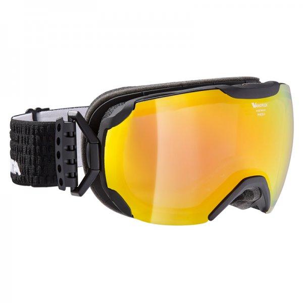 Очки горнолыжные Alpina GRANBY QVMM black/black-red (Lumberjack ) (б/р:ONE SIZE), Горнолыжные очки и маски - арт. 993490418