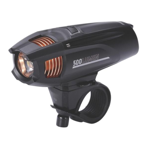 Фонарь передний BBB Strike 500 lumen LED rechargealbe lithium ion 2300mAh battery black (BLS-72)