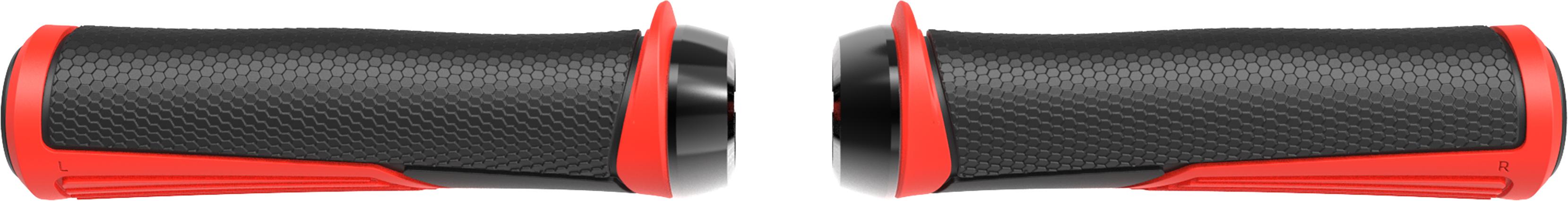 Грипсы BBB Cobra 142mm / red / lockring красный/черный, Рулевая группа - арт. 1022390362