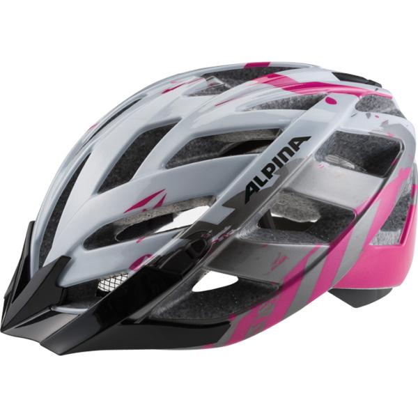 Летний шлем ALPINA Panoma pearlwhite-magenta