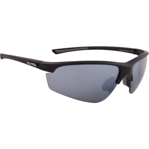 Очки солнцезащитные Alpina 2018 TRI-EFFECT 2.0 black mat, Очки солнцезащитные - арт. 1018290413
