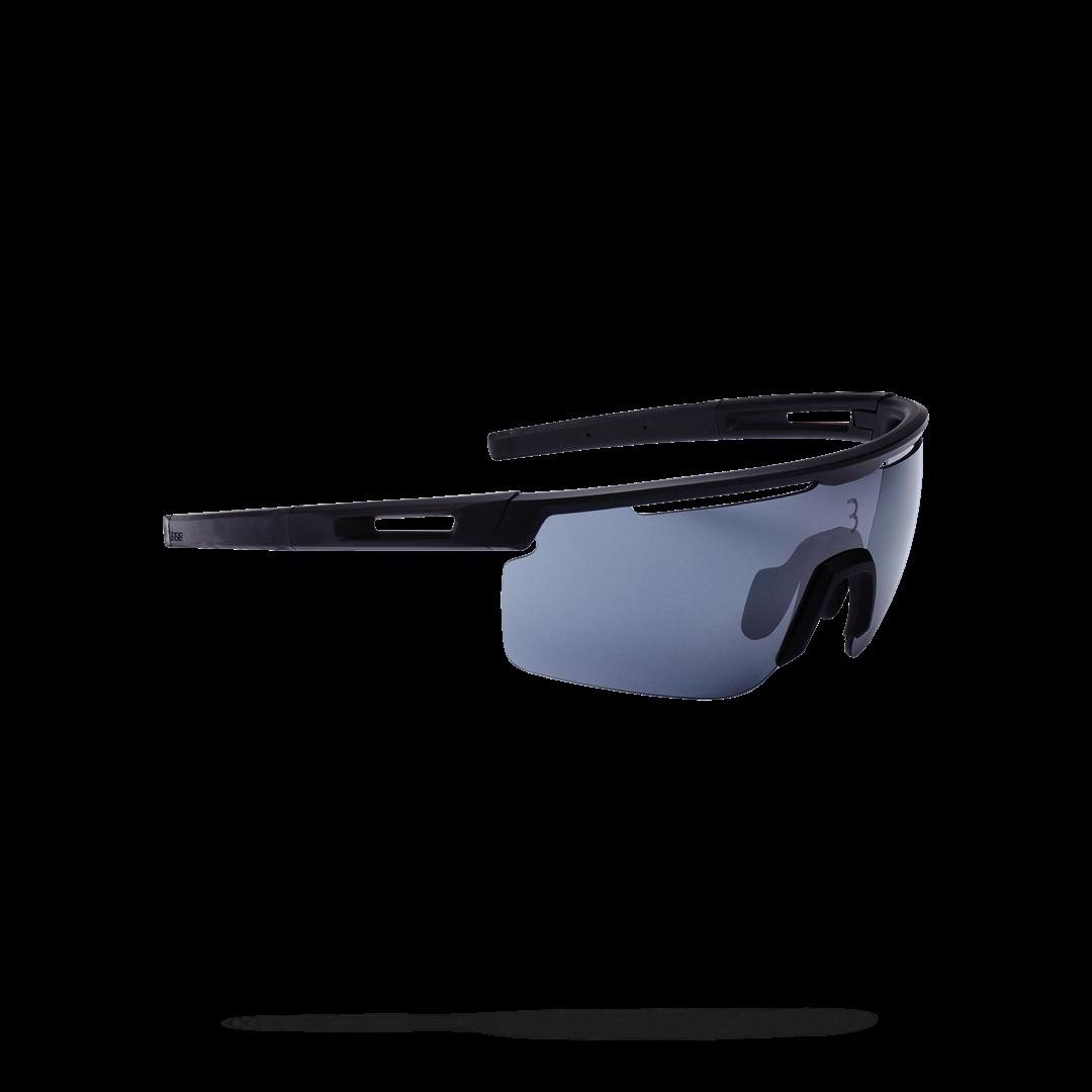 Очки солнцезащитные BBB 2018 Avenger PC Smoke flash mirror lenses черный