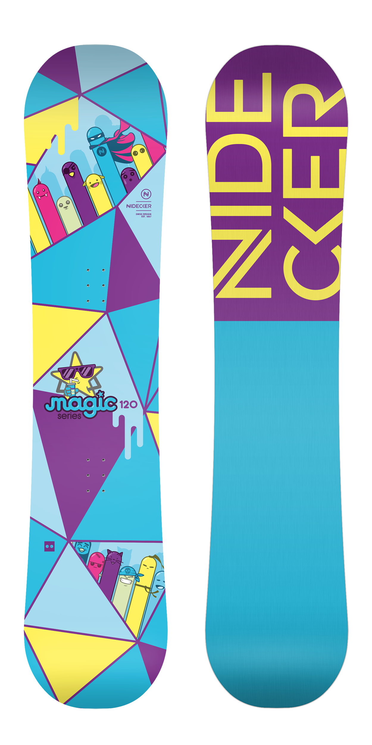 Сноуборд NIDECKER 2017-18 MAGIC