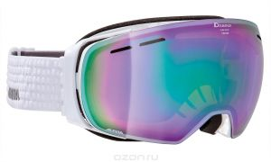 Очки горнолыжные Alpina GRANBY MM white/grey (white dots) (б/р:ONE SIZE), Горнолыжные очки и маски - арт. 969020418
