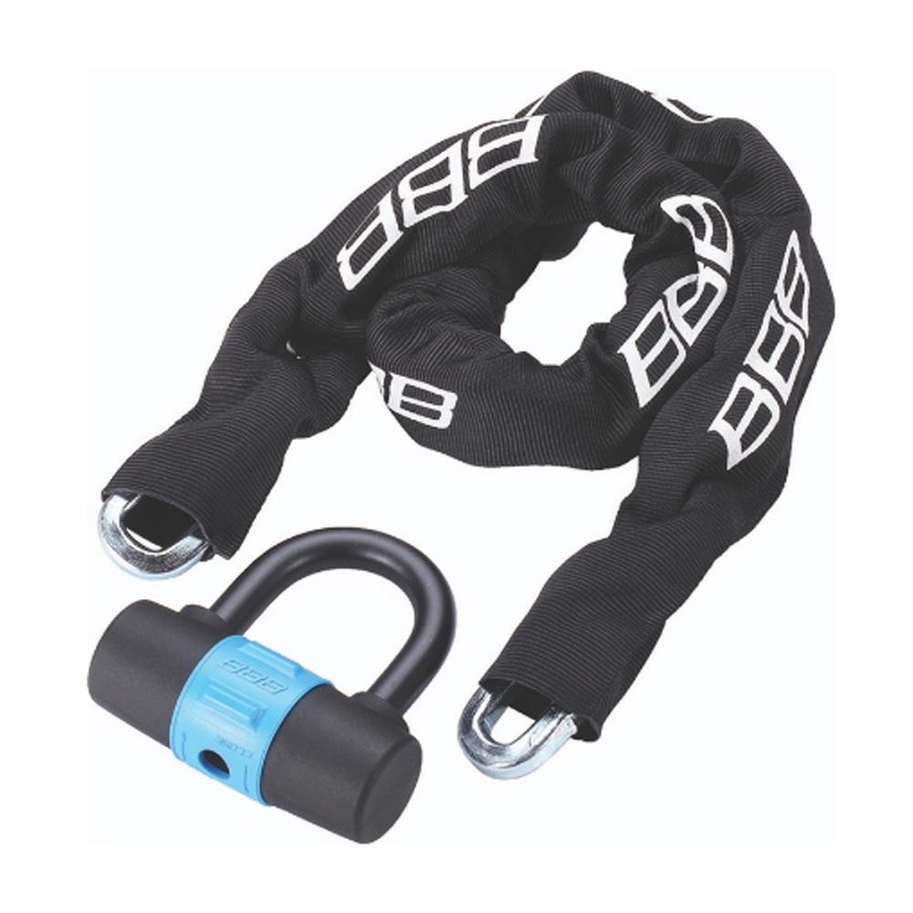 Замок велосипедный BBB Power10mmx10mmx1000m + 100x110mm U lock ключевой (BBL-26), Велосипедные замки - арт. 819960359