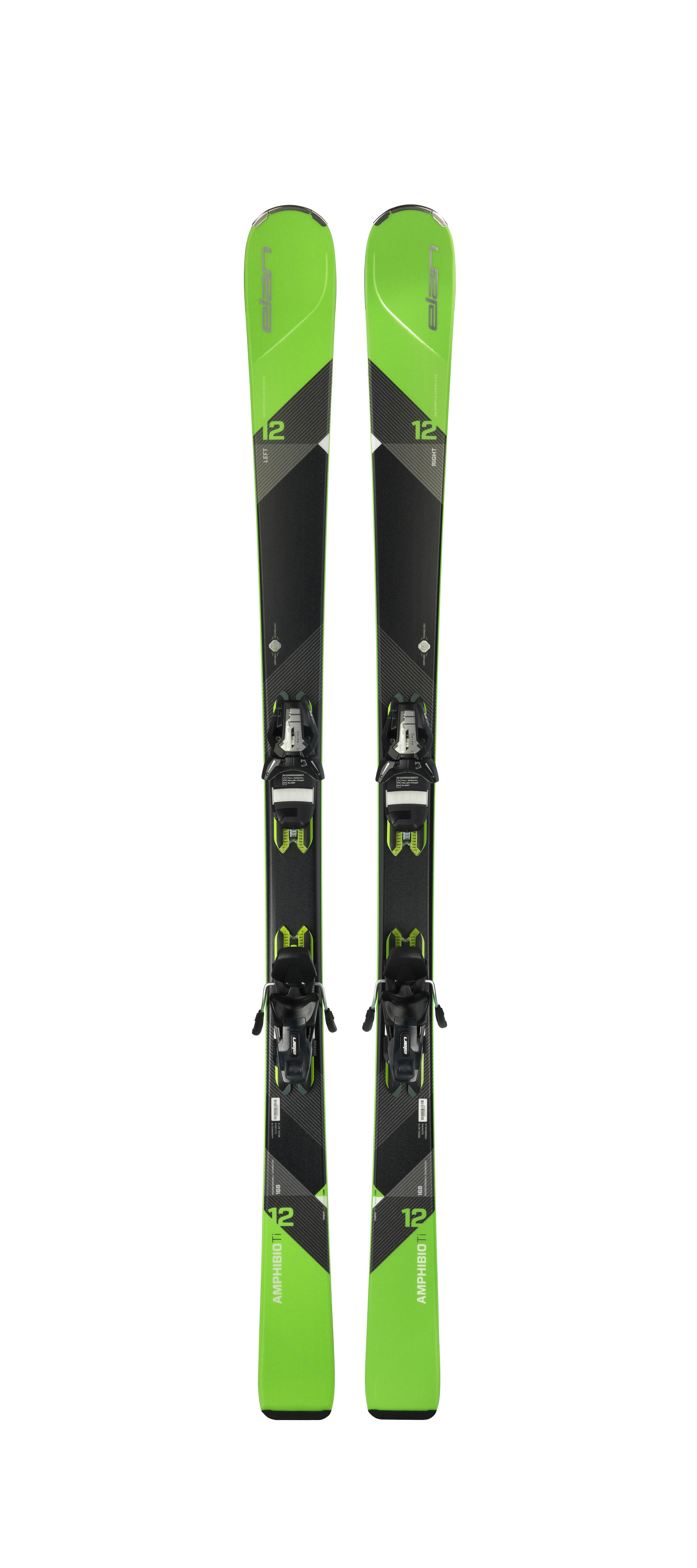 Горные лыжи с креплениями Elan 2017-18 Amphibio 12Ti ELS 11 PS