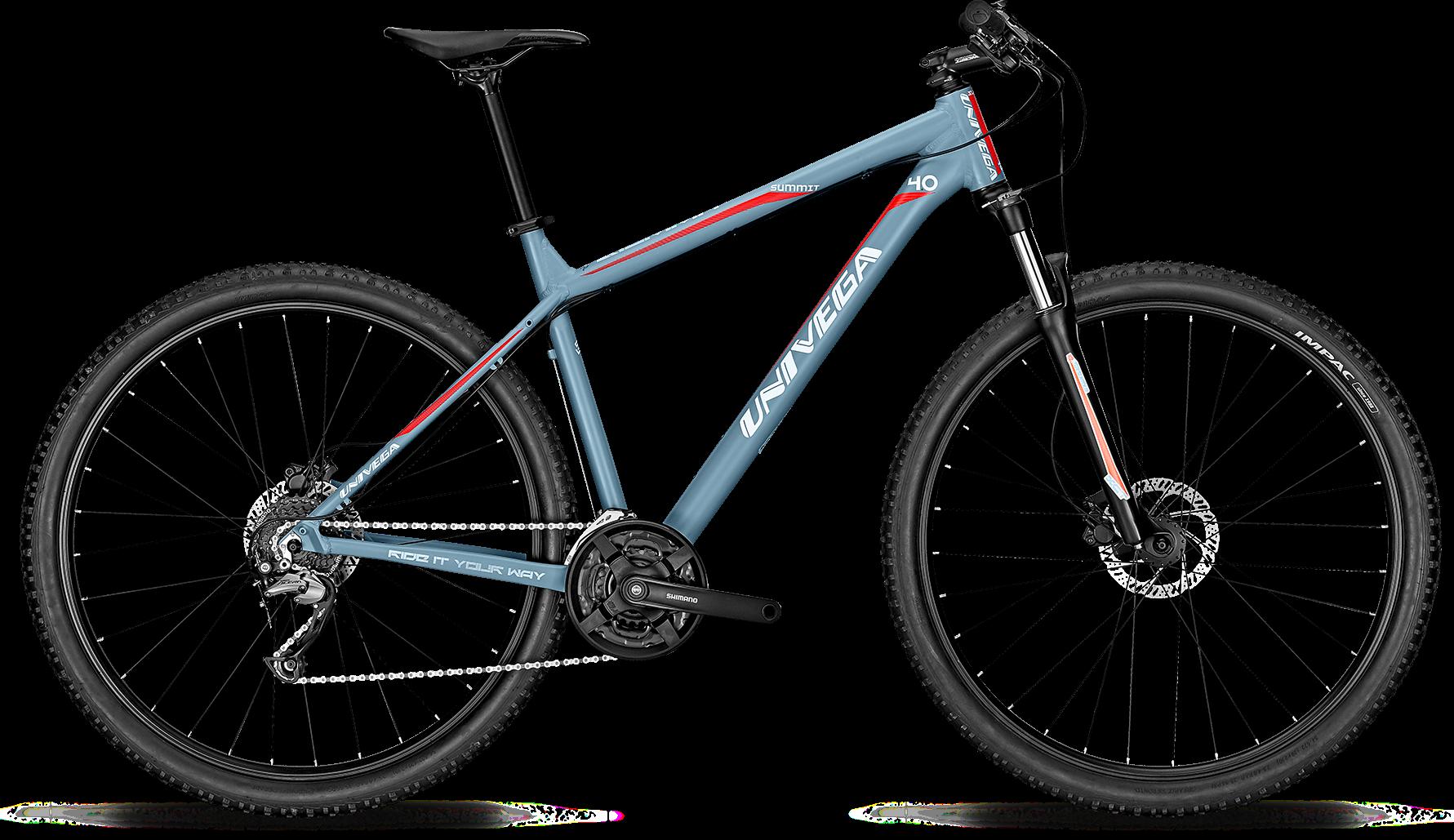 Велосипед UNIVEGA SUMMIT 4.0 2018 horizon blue matt, Велосипеды - арт. 1028580390