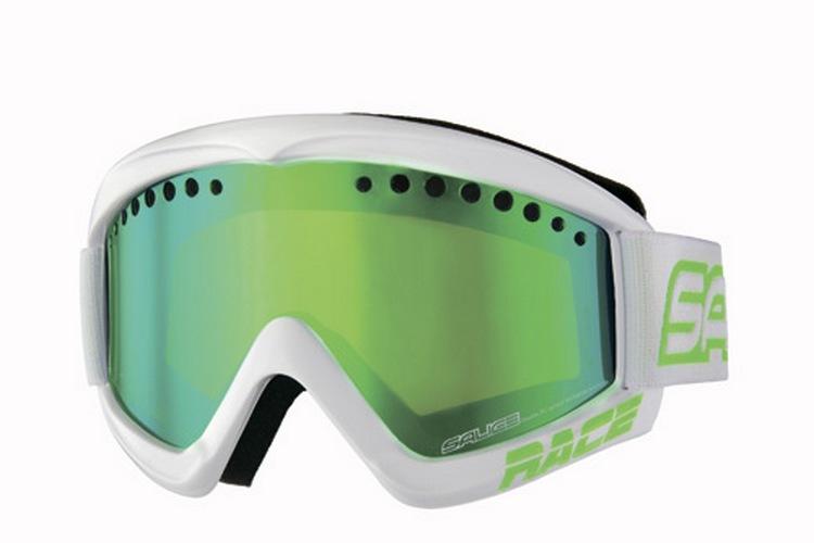 Очки горнолыжные Salice 969DARWFV CHARCOAL/RW GREEN (б/р:ONE SIZE), Горнолыжные очки и маски - арт. 971620418