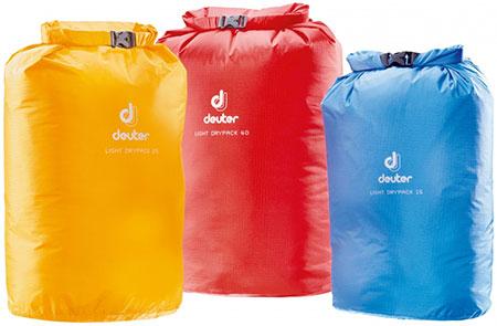 Чехол водонепроницаемый Deuter 2017 Light Drypack 25 sun