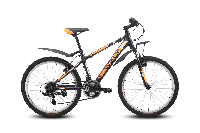 Велосипед Welt Peak 24 2016 matt black/orange