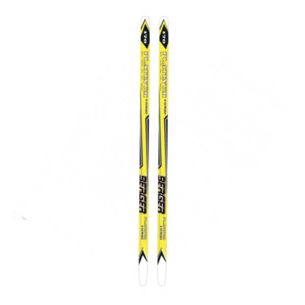 Беговые лыжи KARJALA 2014-15 Platinum combi BERGER wax желтый, Беговые лыжи - арт. 678440419