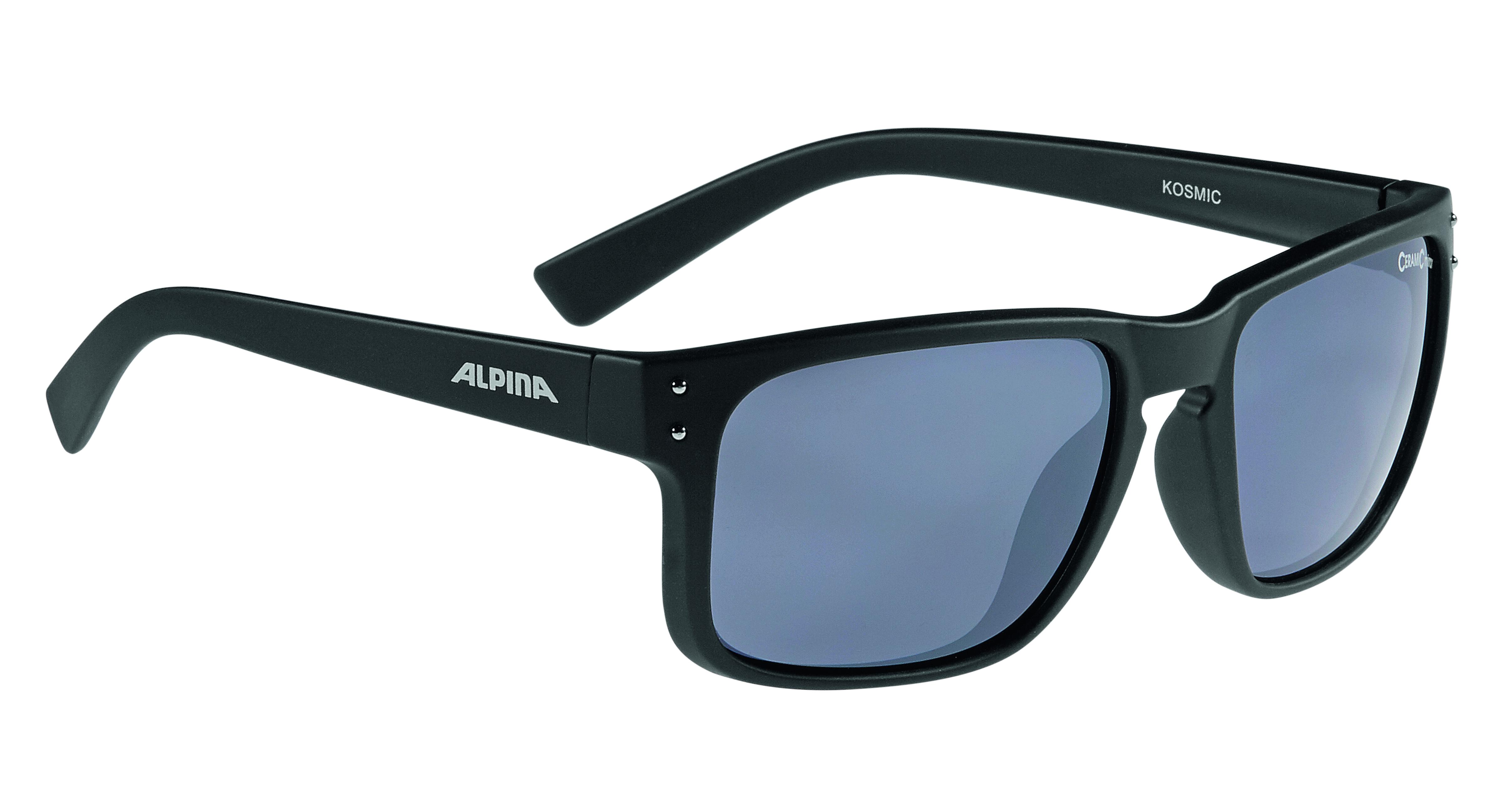 Очки солнцезащитные Alpina 2018 KOSMIC black matt