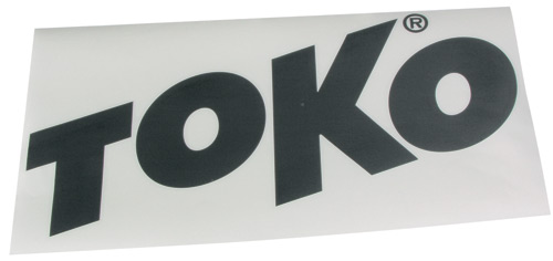 Наклейка TOKO TOKO Letter Sticker Black