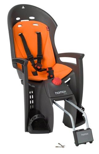 Детское кресло HAMAX SIESTA W/LOCKABLE BRACKET серый/оранжевый, Велокресла - арт. 577820364
