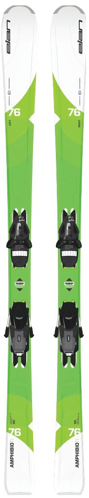 Горные лыжи с креплениями Elan 2017-18 Amphibio 76 TI W/G PS EL 11 (см:160)