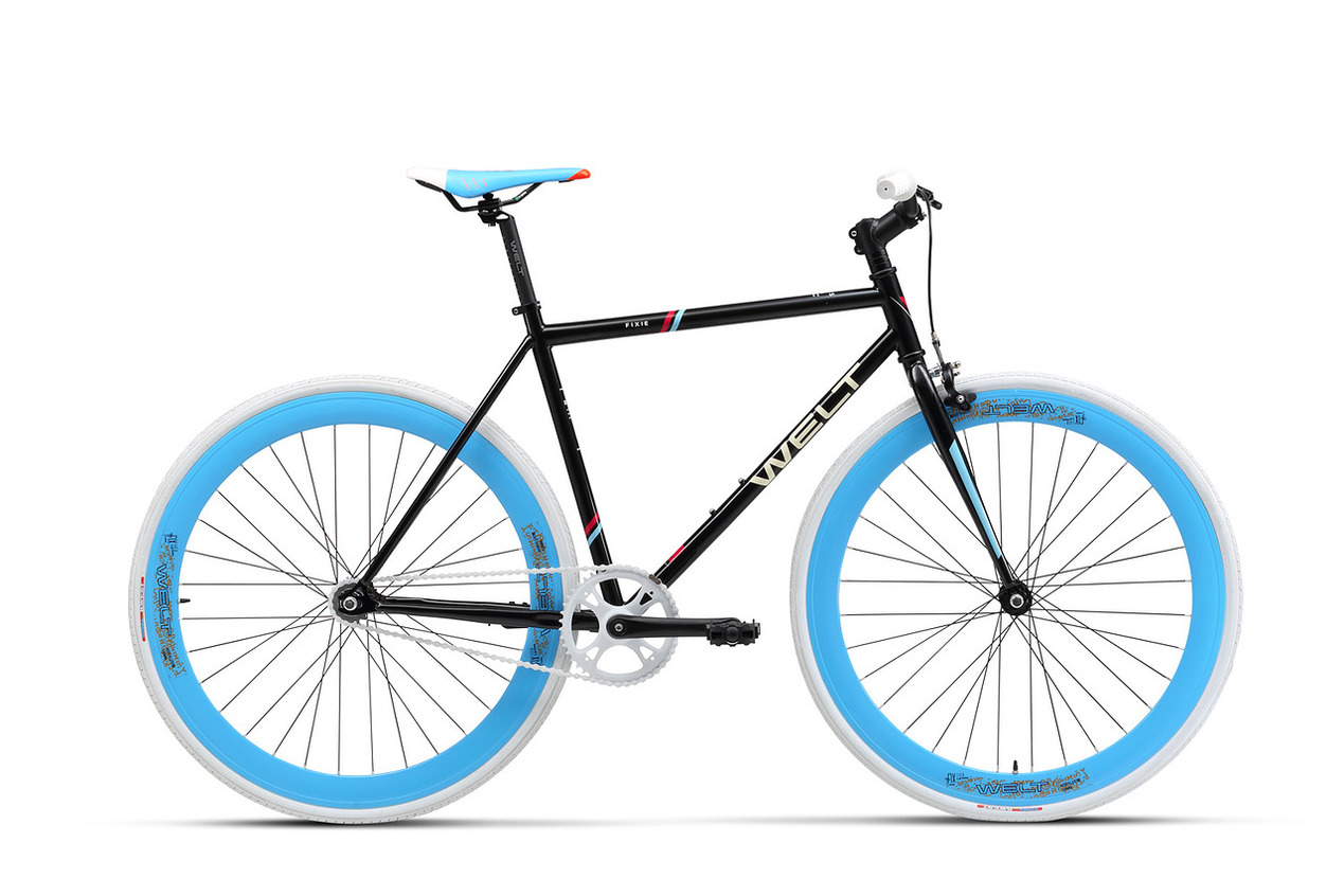 Велосипед Welt Fixie 1.0 2017 glossy black, Велосипеды - арт. 843790390