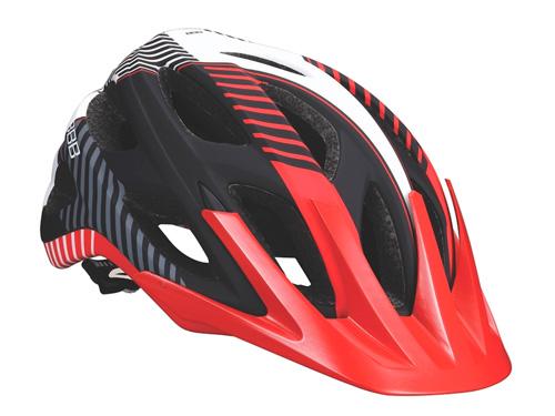 Летний шлем BBB Nerone matt black red (BHE-68), Велошлемы - арт. 600830356
